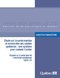 Étude sur la santé mentale et le bien-être des adultes québécois